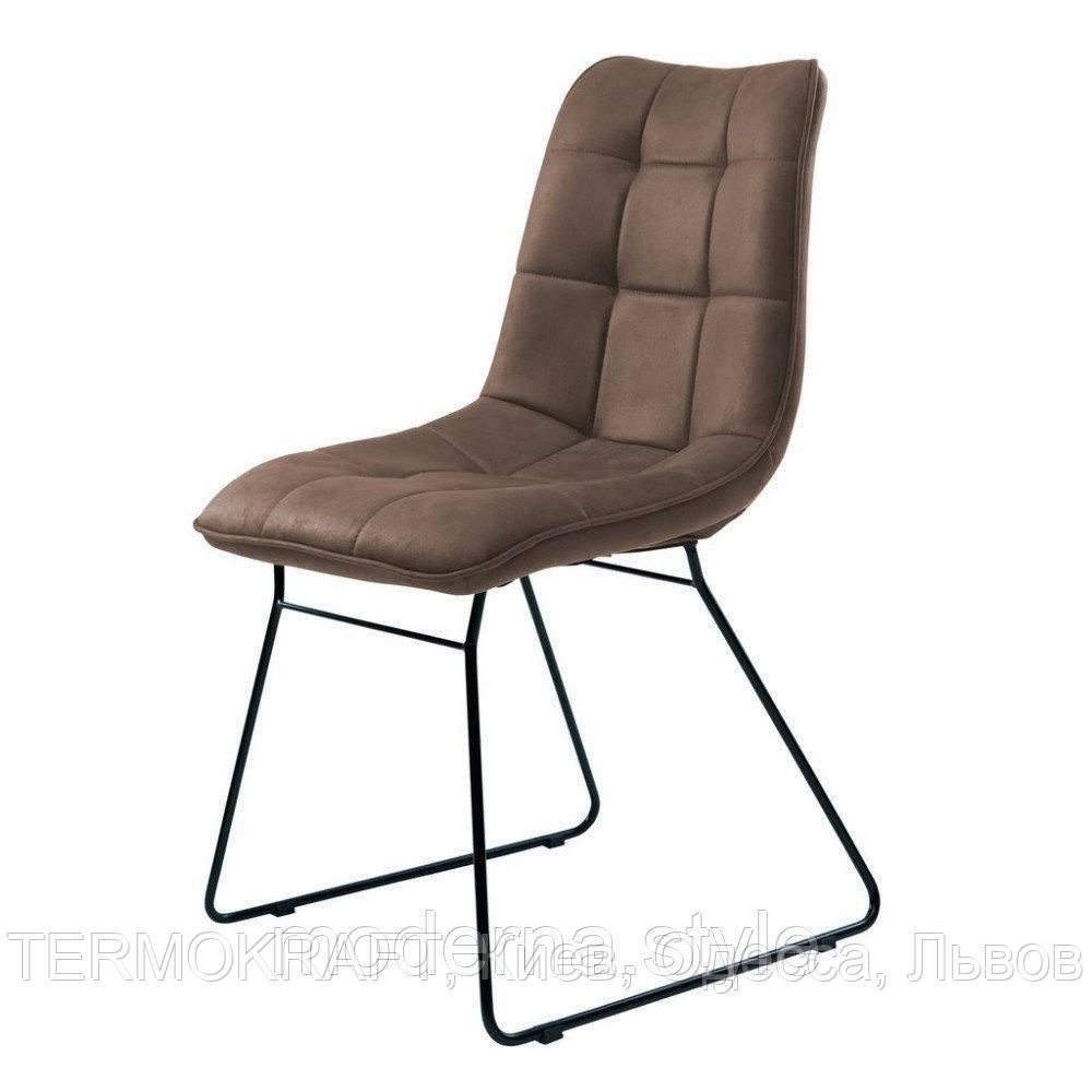 Nord стул на полозьях коричневый (111560)