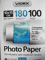 Фотобумага Videx HGA6 180/100 глянцевая