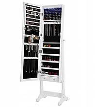 Зеркало шкаф Lolo для бижутерии 154 см с подсветкой