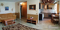 Квартира в центре возле реки, 2х-комнатная (49642)