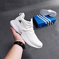 Мужские кроссовки Adidas Alphabounce белые