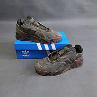 Мужские кроссовки Adidas Streetball хаки