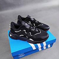 Мужские кроссовки Adidas Ozweego черные