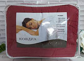 Одеяло полуторный размер наполнение - холлофайбер, ткань - микрофибра в подарочной сумке О-900
