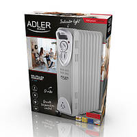 Обогреватель маслянный Adler AD 7808 на 9 секций мощность 2000w