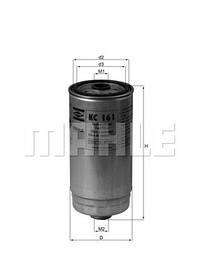 Фильтр топливный KC161 KNECHT/MAHLE