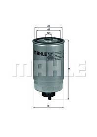 Фильтр топливный KC140 KNECHT/MAHLE