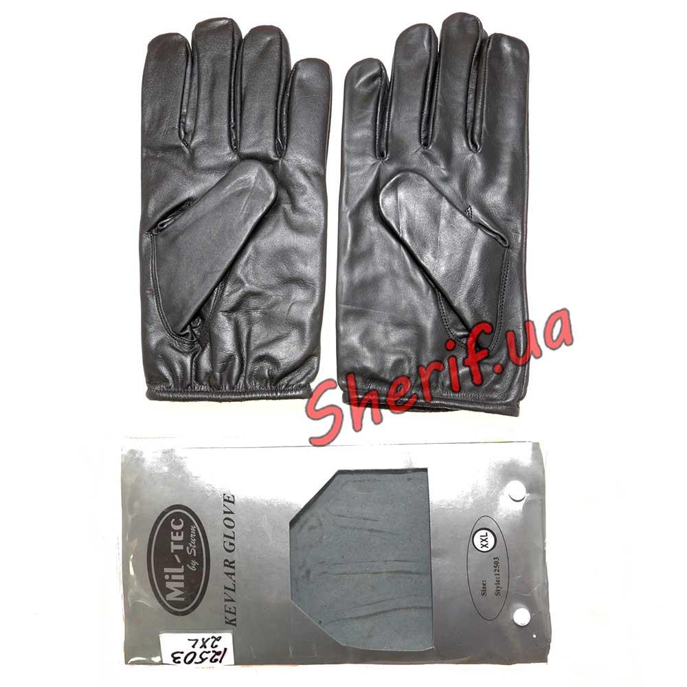Кевларовые перчатки MIL-TEC Black 12503002 XL - Военторг Шериф в Днепре