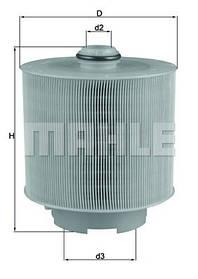 Фильтр воздушный LX1006/2D KNECHT/MAHLE
