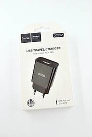 Зарядное устройство HOCO DС20A 2.1A 1 Usb