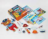 Розвиваюча гра з рухомими деталями .Ведмедик., VT2109-06, Vladi Toys, фото 2