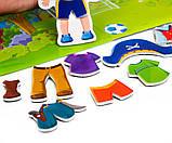 Развивающая игра на магнитах .Мальчик., VT3204-19, Vladi Toys, фото 2