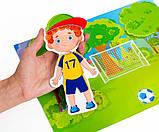 Развивающая игра на магнитах .Мальчик., VT3204-19, Vladi Toys, фото 4