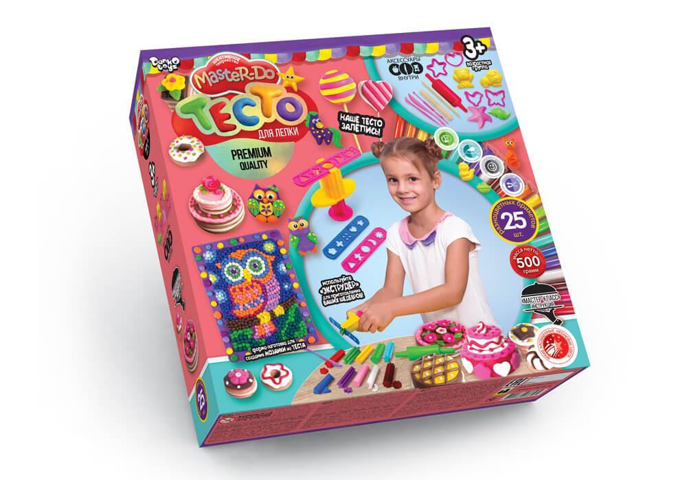 """Набір для дитячої творчості """"Тісто для ліплення """"Master Do"""" коробка 25 кольорів*20г, ТМD-05-02, Danko Toys"""