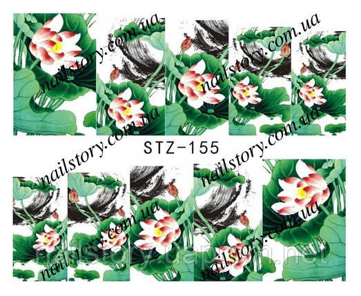 Водные наклейки для ногтей STZ155, фото 2