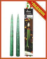 Свечи со стекающими разноцветными каплями, 26 см,Новогодняя свечка,Свечи декор набор,Свечи в