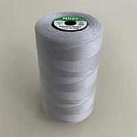 Нитки швейні 40/2 (4000Y) колір СІРИЙ