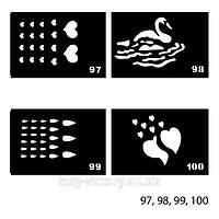 Трафареты для татуажа. TT-97, 98, 99, 100
