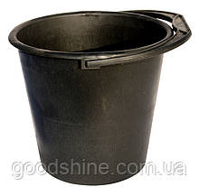 Ведро пластиковое ГОСПОДАР 10 л черное 92-0237