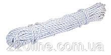 Шнур хозяйственный ГОСПОДАР М-20 Ø5.0 мм 20 м рябой (бело-синий) 92-0435