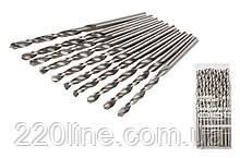 Свердло для металу MASTERTOOL Р6М5 2.5 мм біле 10-1025