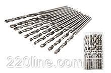 Свердло для металу MASTERTOOL Р6М5 4.0 мм біле 10-1040