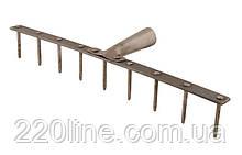 Грабли металлические MASTERTOOL 9 зубов 430х60 мм 14-6238