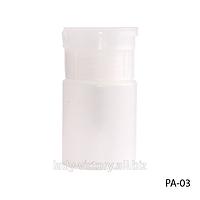 Пластиковая бутылка с помпой. PA-03