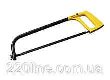 Ножовка по металлу MASTERTOOL 250-300 мм металическая рукоятка flex полотно металл 14-2225