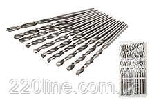 Свердло для металу MASTERTOOL Р6М5 3.0 мм біле 10-1030