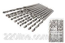 Свердло для металу MASTERTOOL Р6М5 6.5 мм біле 10-1065