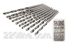 Свердло для металу MASTERTOOL Р6М5 3.2 мм біле 10-1032