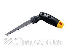 Ножівка-викрутка MASTERTOOL 4В1 (ножівкове полотно 3 шт + магнітний тримач + насадки викруткове 7 шт)