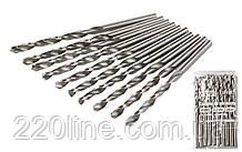Свердло для металу MASTERTOOL Р6М5 5.2 мм біле 10-1052