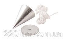 Будівельний висок MASTERTOOL металевий конусний 100 г 30-0601