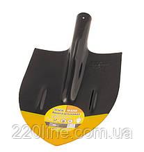 Лопата штикова MASTERTOOL 210х290х405 мм чорно-жовта фарбування 0.7 кг 14-6255