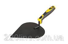 Кельма штукатура MASTERTOOL крашеная с двухкомпонентной ручкой 19-4221