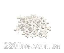 Хрестики дистанційні MASTERTOOL 4.0 мм 81-0540