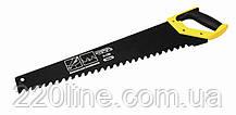 Ножівка для піноблоків MASTERTOOL 550 мм зуб з напайкою тефлонове покриття 14-2755