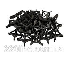 Хрестики дистанційні багаторазові MASTERTOOL тип 1 1.5 мм 30 шт 81-0615