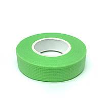 Скотч для нарощування вій дихаючий, зелений
