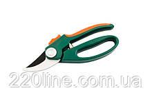 Секатор садовый MASTERTOOL 200 мм ручки ABS+TPR лезвие Mn65+тефлон 14-6119