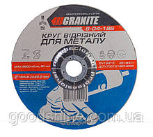 Диск абразивный зачистной для металла GRANITE 180х6.0х22.2 мм 8-04-186