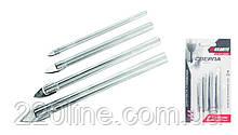 "Набір свердел ""піку"" для скла та плитки GRANITE 4 шт (4х60/5х65/6х68/8х70 мм) 2-01-004"