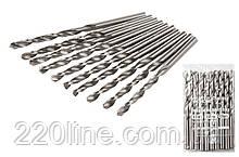 Свердло для металу MASTERTOOL Р6М5 6.0 мм біле 10-1060