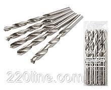 Свердло для металу MASTERTOOL Р6М5 10.2 мм біле 10-1102
