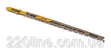 Пиляльне Полотно для лобзика MASTERTOOL PROGRESSOR по дереву 5 шт чистий прямий різ 8-12TPI 116 мм T234X