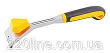 Цикля MASTERTOOL 290х64 мм с двухкомпонентной ручкой 17-1007