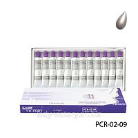 Перламутровые художественные акриловые краски. PCR-02-09