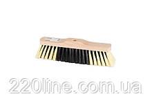 Щітка для підлоги MASTERTOOL 280х50х75 мм ПЕ+ПВХ+ПП дерев'яна без ручки 14-6344